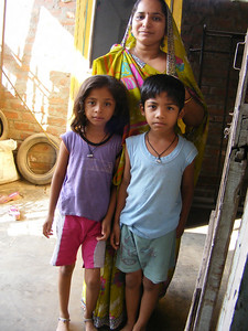Alkesh&#39;s wife, Abiditi, and her children Rasviti and Rasvitya