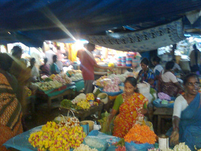 Flower market